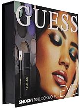 Kup Zestaw - Guess Beauty Smokey 101 Eye Lookbook (mascara/4ml + eyeliner/0.5g + 12xeye/sh/1.96g)