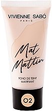 Kup Matujący podkład do twarzy - Vivienne Sabo Mat Mattin Mattifying Foundation