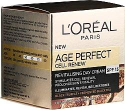 Kup Odbudowujący krem do twarzy na dzień 50+ - L'Oreal Paris Age Perfect Cell Revival Day Cream