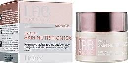 Kup Krem wygładzająco-odbudowujący z olejem inca inchi i kwasem bursztynowym - Lirene Lab Therapy Nourishment In-Chi Skin Nutrition 15%