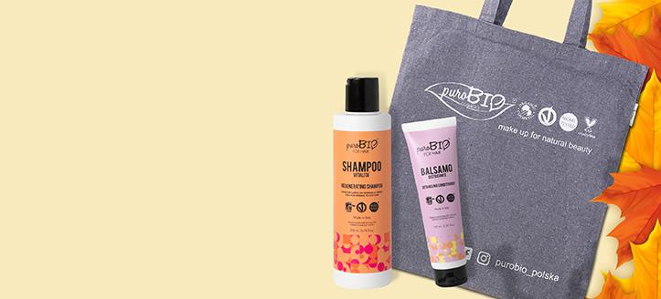 Przy zakupie produktów PuroBio Cosmetics za min. 80 zł, torbę shopper otrzymasz w prezencie