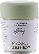 Kup Maska z zielonej glinki do cery tłustej i trądzikowej - Jadwiga Saipan