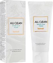 Kup Oczyszczająca pianka do twarzy z glinką białą - Heimish All Clean White Clay Foam