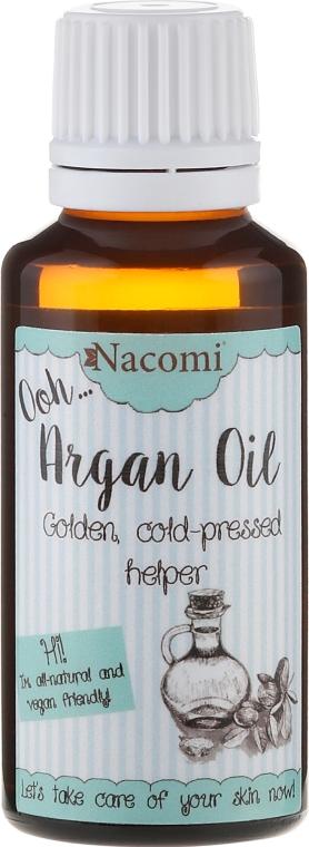 Zimnotłoczony olej arganowy - Nacomi Argan Oil
