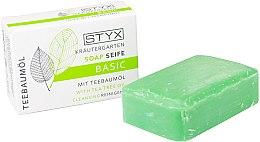 Kup Mydło w kostce Drzewo herbaciane - Styx Naturcosmetic Basic Soap With Tea Tree Oil