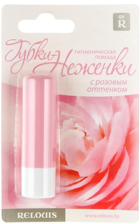 Pomadka higieniczna Usteczka Sissy z różowym odcieniem - Relouis — фото N1