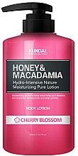 Kup Intensywnie nawilżający balsam do ciała Kwiat wiśni - Kundal Honey & Macadamia Body Lotion Cherry Blossom