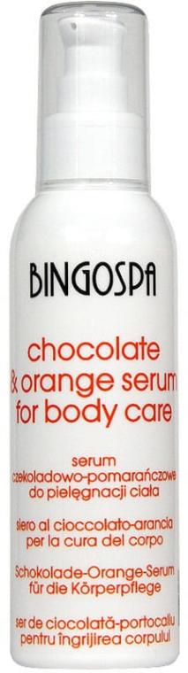 Serum czekoladowo-pomarańczowe do ciała - BingoSpa Serum Chocolate & Orange