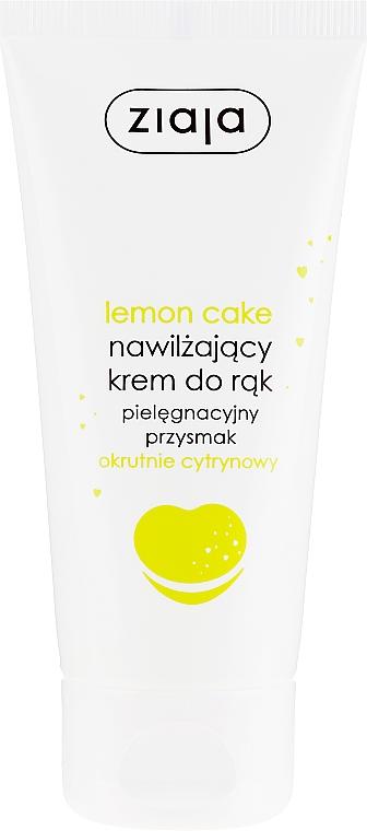 Nawilżający krem do rąk Okrutnie cytrynowy - Ziaja Pielęgnacyjny przysmak Lemon Cake — фото N1