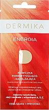Kup Energetyzująco-nawilżająca maseczka dotleniająca do cery szarej i zmęczonej Energia - Dermika Energizing and Moisturizing Mask
