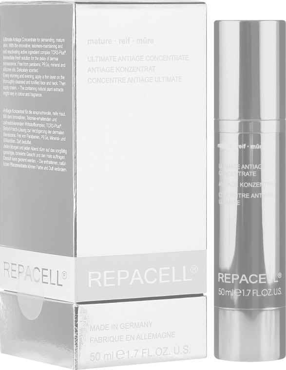 Koncentrat do cery dojrzałej - Klapp Repacell Ultimate Antiage Concentrate Mature  — фото N1