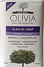 Kup Mydło z oliwek w kostce Lawenda - Olivia Beauty & The Olive Tree Olive Oil Soap Lavender