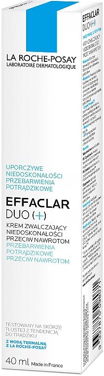 Krem korekcyjny do walki z niedoskonałościami skóry - La Roche-Posay Effaclar Duo+ — фото N4