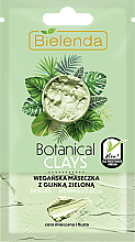 Kup Wegańska maseczka z glinką zieloną do cery mieszanej i tłustej Detoks i normalizacja - Bielenda Botanical Clays