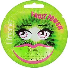 Kup Złuszczający peeling do twarzy z naturalnymi pestkami Kiwi peeling - Lirene Fruit Power