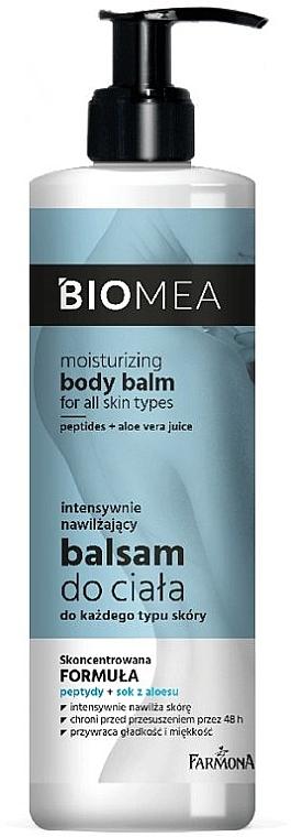 Intensywnie nawilżający balsam do ciała do każdego typu skóry - Farmona Biomea Moisturizing Body Balm