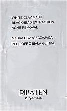 Kup Maska peel-off oczyszczająca pory z glinką białą - Pilaten White Clay Mask Blackhead Extraction Acne Removal (próbka)