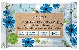 Kup Oczyszczające chusteczki z hydrolatem z bławatka - Marion