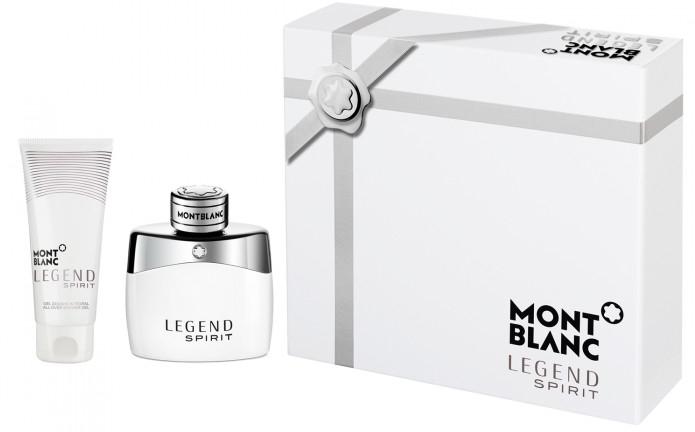Montblanc Legend Spirit - Zestaw (edt/50ml + sh/gel/100ml) — фото N1
