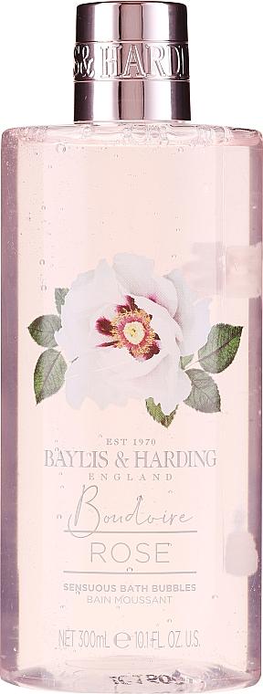 Zestaw - Baylis & Harding Boudoire Rose Set (sh/gel/130ml + sh/gel/300ml + lot/130ml + crystals/100g + bath/f/300ml + soap/100g) — фото N3