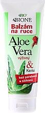 Kup Nawilżający balsam do rąk z wyciągiem z aloesu - Bione Cosmetics Aloe Vera Nourishing Hand Ointment With Collagen