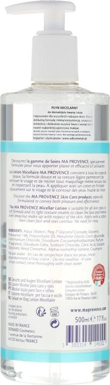 Płyn micelarny do demakijażu twarzy i oczu - Ma Provence Micellar Lotion Face & Eyes — фото N2