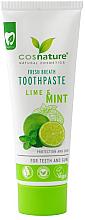 Kup Naturalna pasta do zębów Limonka i mięta - Cosnature