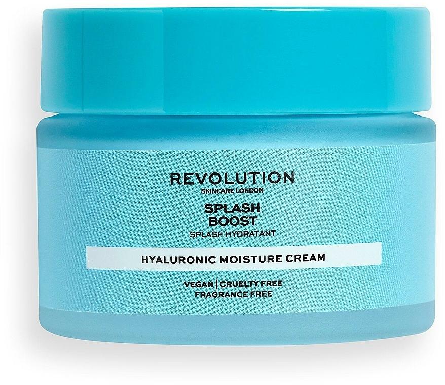 Krem nawilżający do twarzy z kwasem hialuronowym - Revolution Skincare Splash Boost with Hyaluronic Acid — фото N1