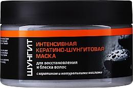 Kup Intensywnie odbudowująca maska do włosów z keratyną i szungitem - Fratti HB Shungite