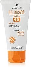 Krem ochronny przeciwsłoneczny, SPF90 - Cantabria Labs Heliocare Ultra Cream SPF 90 — фото N2