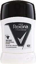Kup Antyperspirant w sztyfcie Invisible Black+White - Rexona Men Deodorant Stick