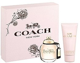 Kup Coach New York Eau De Parfum - Zestaw (edp 50ml + b/lot 100ml)
