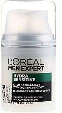 Kup Nawilżający krem z wyciągiem z brzozy do skóry wrażliwej dla mężczyzn 25+ - L'Oreal Paris Men Expert Hydra Sensitive