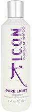 Kup Szampon tonujący do włosów farbowanych - I.C.O.N. Pure Light Toning Shampoo