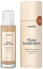 Kup Wodoodporny krem nawilżający do twarzy SPF 30 - Resibo Team Sunscreen Moisturizing Cream SPF 30