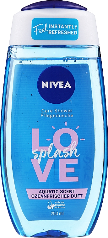 Żel pod prysznic - Nivea Love Splash Shower Gel