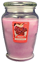Kup Świeca zapachowa w słoiku Róża - Airpure Precious Petals Scented Candle