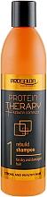 Kup Odbudowujący szampon do włosów suchych i zniszczonych - Prosalon Protein Therapy + Keratin Complex Rebuild Shampoo