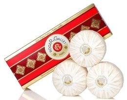 Kup Zestaw perfumowanych mydeł w kostce - Roger & Gallet Jean Marie Farina Perfumed Soaps (soap/3x100g )