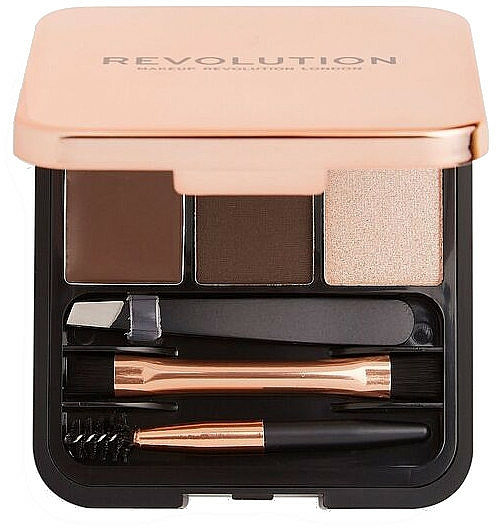 Zestaw do brwi - Makeup Revolution Brow Sculpt Kit