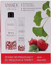 Kup Zestaw rewitalizujący do pielęgnacji twarzy - Vianek Seria czerwona ujędrniająca (micell/water 150 ml + cr 15 ml + mask 10 ml)