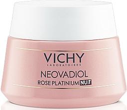 Kup Rozjaśniający krem na noc dla skóry dojrzałej - Vichy Neovadiol Rose Platinum Night Cream