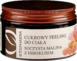 Kup Cukrowy peeling do ciała Soczysta malina z hibiskusem - Bosphaera