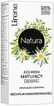 Kup Ekokrem matujący do twarzy na dzień Redukcja niedoskonałości Organiczna szarotka - Lirene Natura Eco Cream