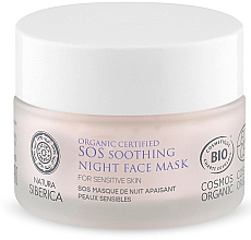 Kup Kojąca maska SOS do twarzy na noc - Natura Siberica Organic Certified SOS Soothing Night Face Mask