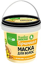 Kup Gorczycowa maska do włosów osłabionych - NaturaList Domowe maski