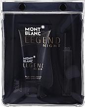 Kup Montblanc Legend Night - Zestaw (edp 7,5 ml + ash/balm 50 ml)