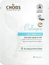 Kup Ujędrniająca maska na tkaninie do twarzy Kolagen - CHOBS Collagen Face Mask Pack