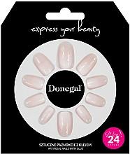 Kup Zestaw sztucznych paznokci z klejem, 3058 - Donegal Express Your Beauty