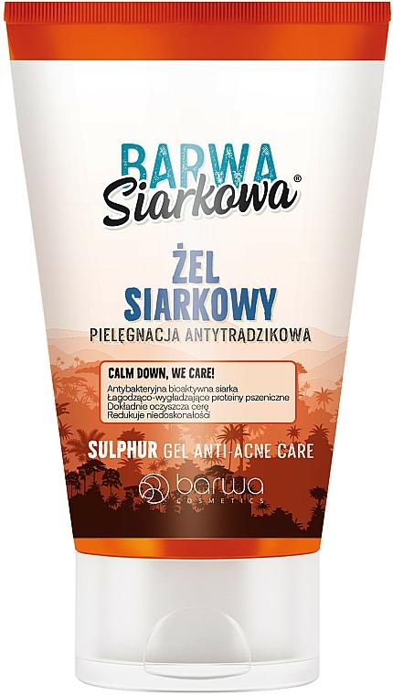 Antytrądzikowy żel siarkowy - Barwa Anti-Acne Calm Down Care Sulpfur Gel